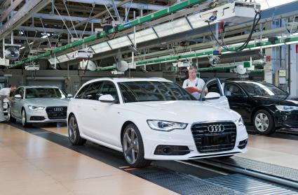 Audi: starkes Wachstum in USA und China