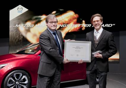 Mazda verleiht Make Things Better Award (FOTO)