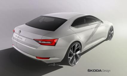 Design-Revolution: Der neue SKODA Superb (FOTO)
