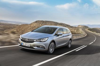 Fit for Job & Family: Der Opel Astra Sports Tourer feiert Weltpremiere (FOTO)
