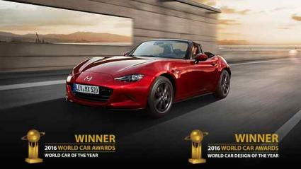 Mazda MX-5 ist World Car of the Year 2016 (FOTO)