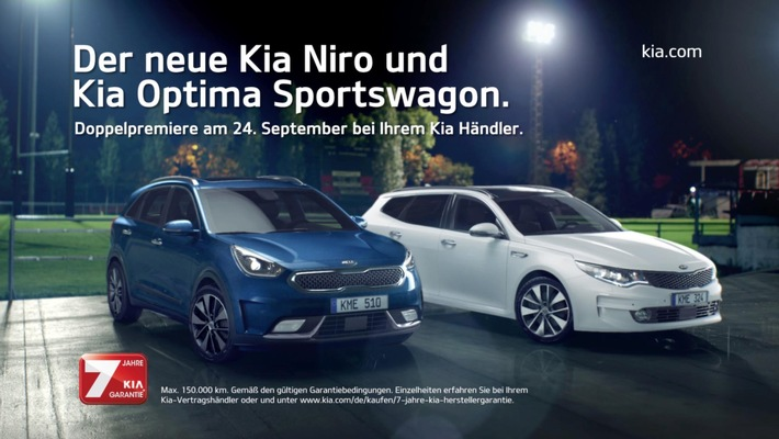Doppelpremiere zum Kia Open Day am 24. September