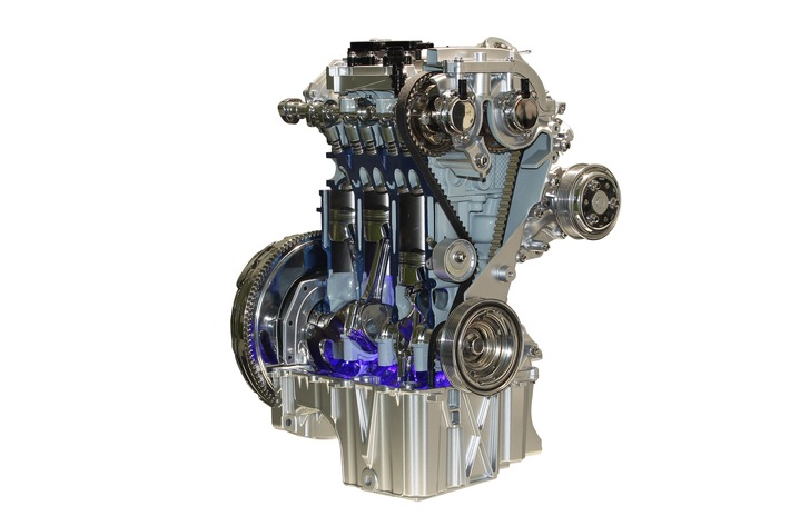 1,0-Liter-EcoBoost-Dreizylinder-Motor von Ford zum sechsten Mal in Folge International Engine of the Year