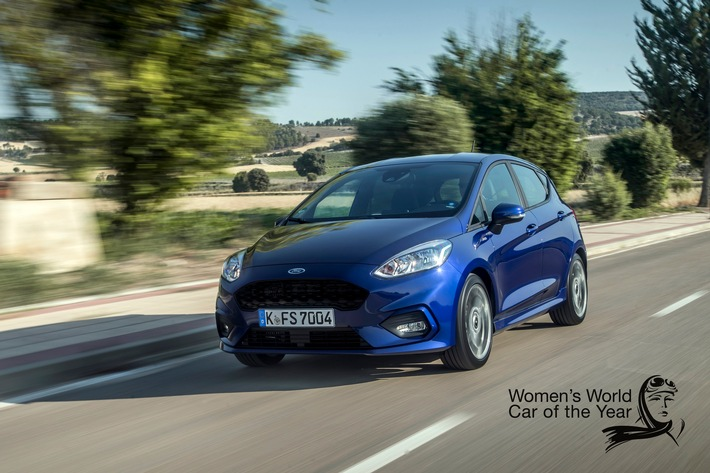 Neuer Ford Fiesta ist Women's World Car of the Year 2017