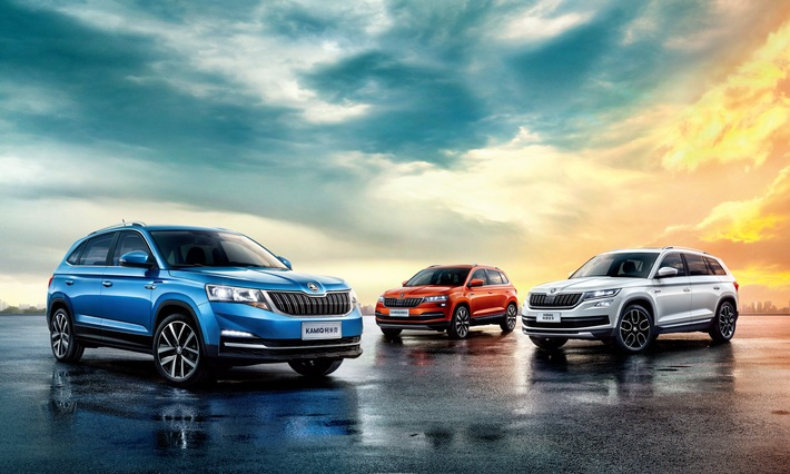 SKODA KAMIQ - Highlight der Auto China 2018 in Peking