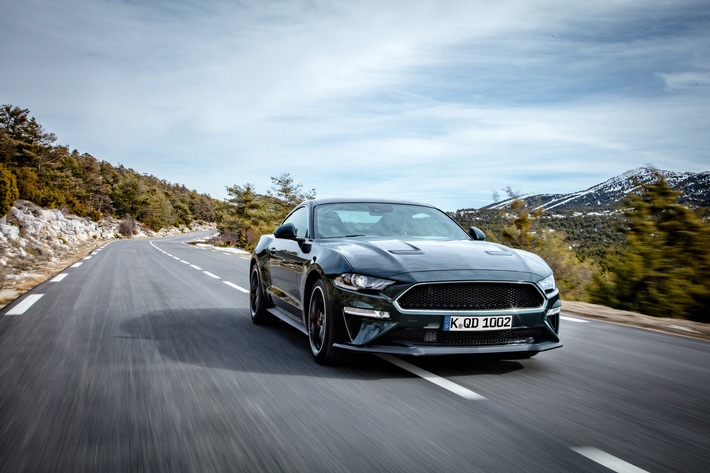 Ab 52.500 Euro: Ford Mustang Bullitt[TM]-Edition geht in Deutschland an den Start