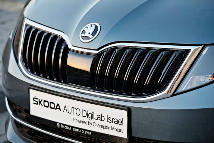 SKODA AUTO schließt weitere Kooperationen mit Hightech-Start-ups in Israel