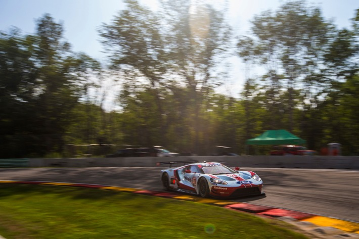 Ford Chip Ganassi Racing feiert mit dem Ford GT Doppelsieg in Road America
