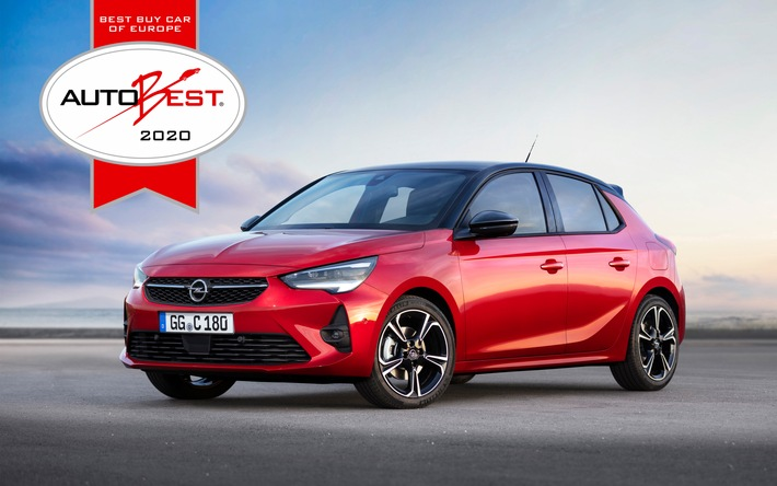 Best Buy Car of Europe 2020: Neuer Opel Corsa und Corsa-e gewinnen AUTOBEST-Award