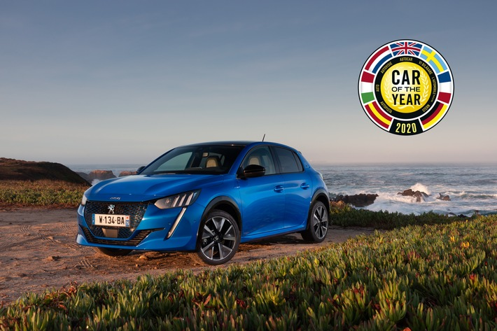 Der neue PEUGEOT 208 ist Car of the Year 2020