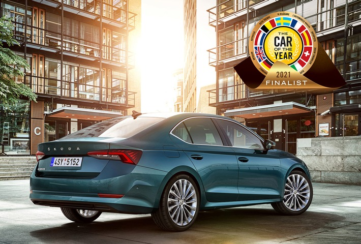 SKODA OCTAVIA für ,Car of the Year 2021'-Award nominiert